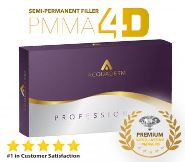Acquafiller Dermal Filler Permanent PMMA 30% - 4ml