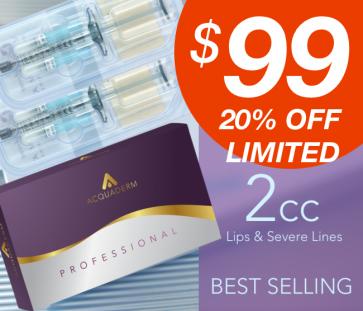 Buy Acquafiller Dermal Filler Hyaluronic Acid Plus