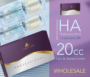 Acquaderm Hyaluronic acid HA Compare to Juvederm Voluma for severe wrinkles