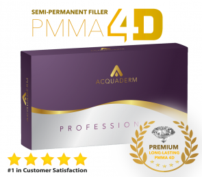 Acquafiller Dermal Filler Permanent PMMA 30% - 4ml
